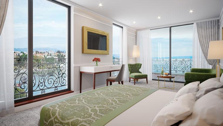 Villa Harmony, superior king bedroom