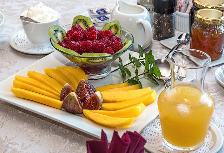 Villa Harmony, doručak